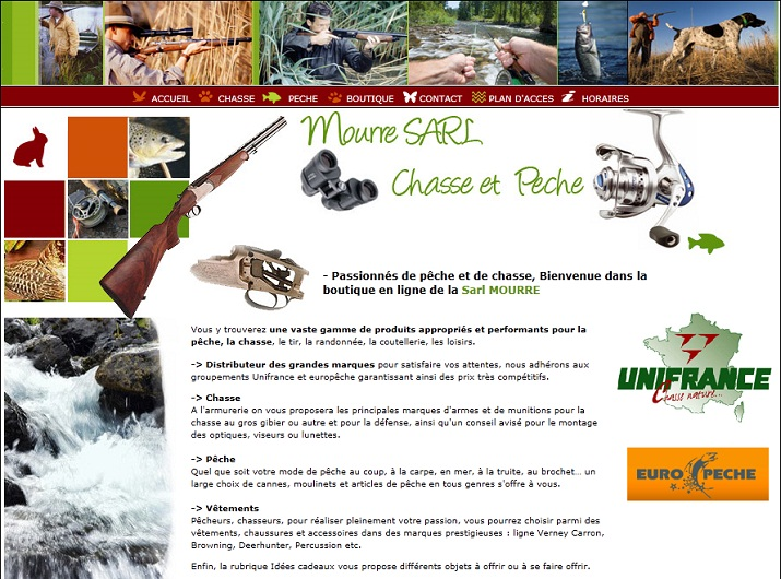 Mourre chasse pêche